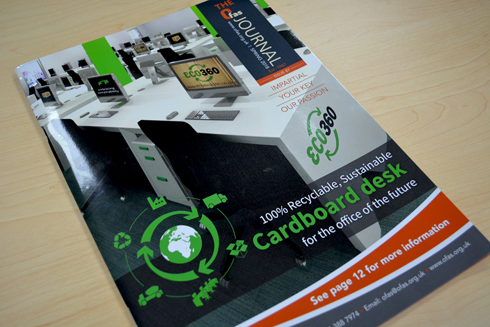 ECO360® featured on the OFAS Journal front cover